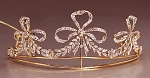 Tiara Online 7.25Ct Certified Diamond Sterling Silver Bridal Hair Accessories